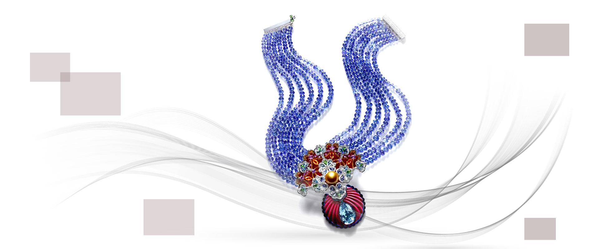 Jewellery designers 5 1 - استفاده از مواد اولیه غیر متعارف در جواهر سازی