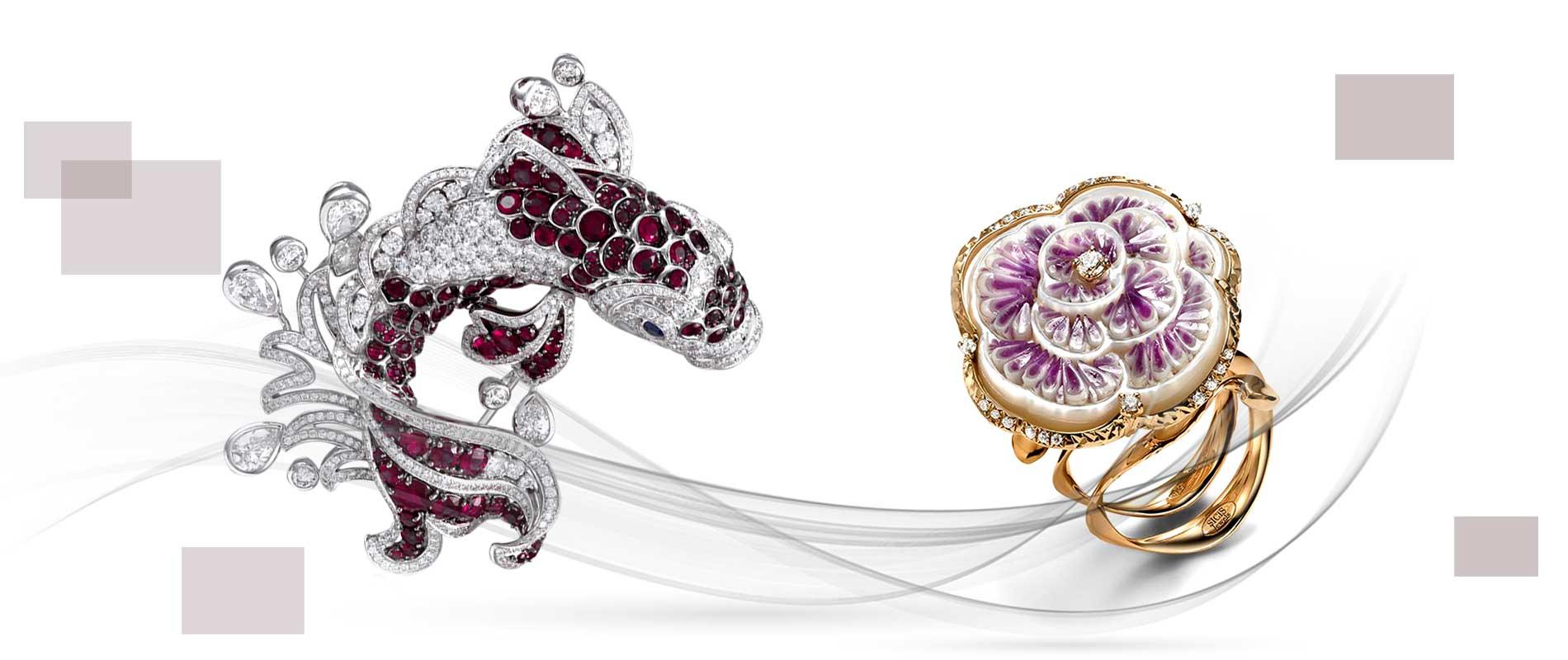 Jewellery designers r5 1 - استفاده از مواد اولیه غیر متعارف در جواهر سازی