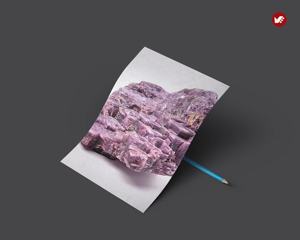 Lepidolite - اثر کریستال ها در واستو