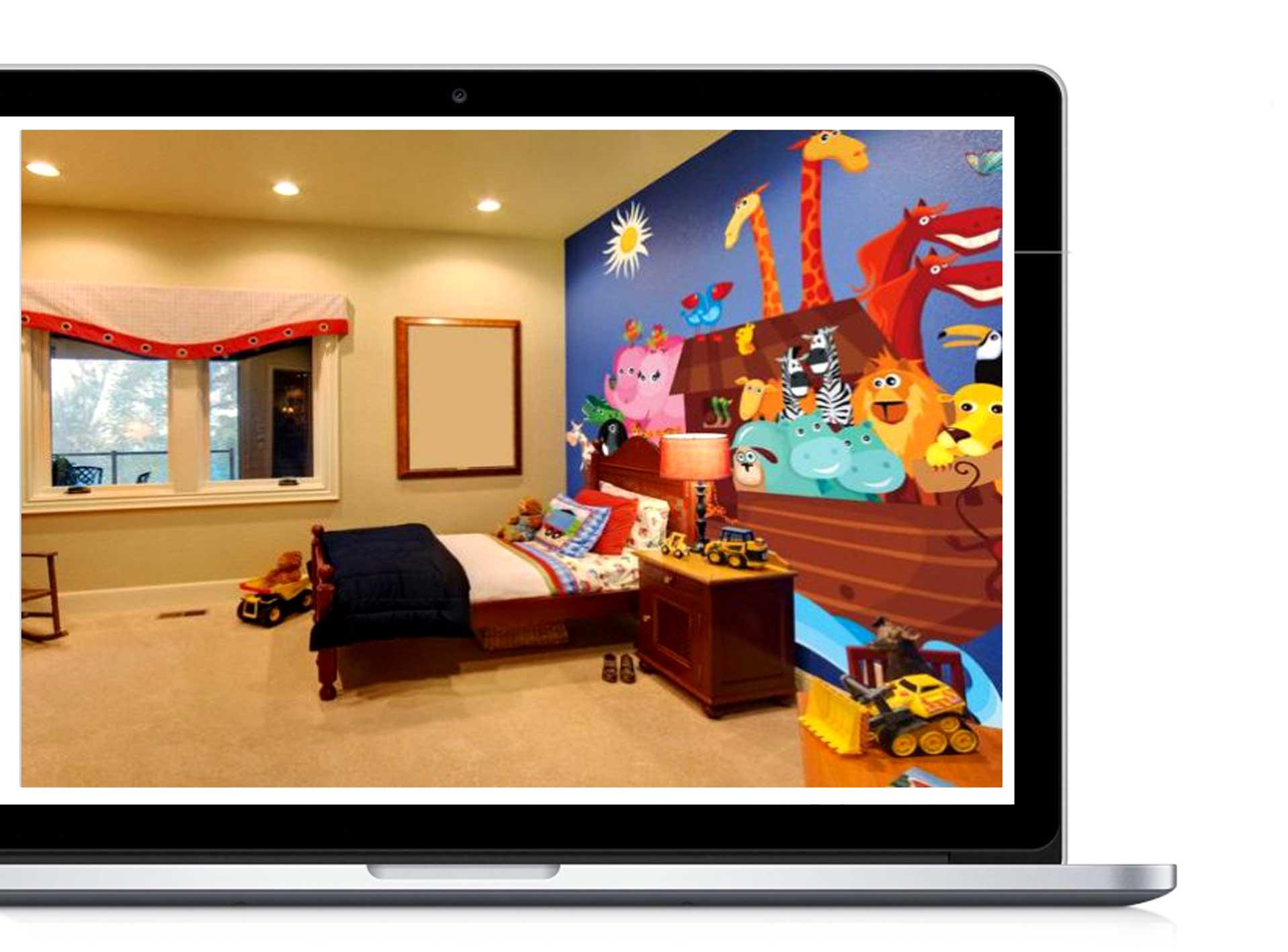 Yellow kids study room 32 - دکوراسیون داخلی- اتاق کودک