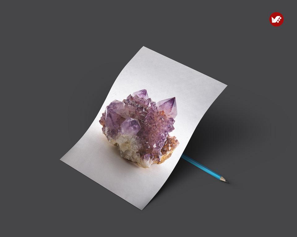 amethyst - اثر کریستال ها در واستو