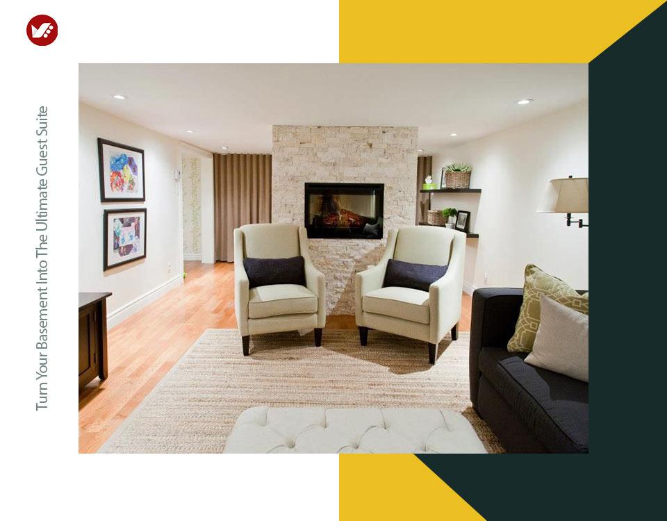 basement interior design 1 - تبدیل زیرزمین به فضایی بهتر و کاربردی تر