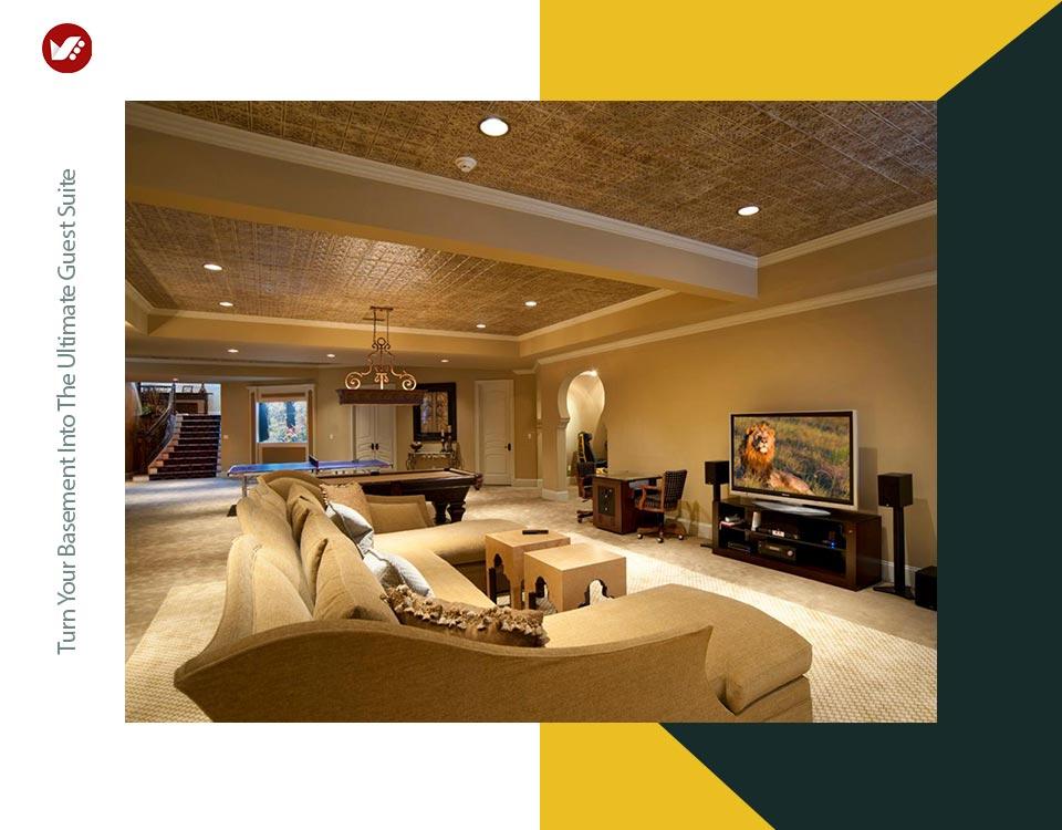 basement interior design 2 - تبدیل زیرزمین به فضایی بهتر و کاربردی تر