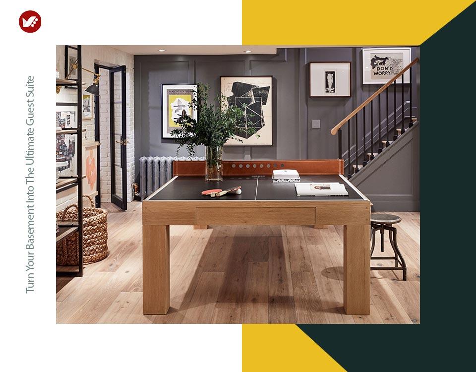 basement interior design 3 - تبدیل زیرزمین به فضایی بهتر و کاربردی تر