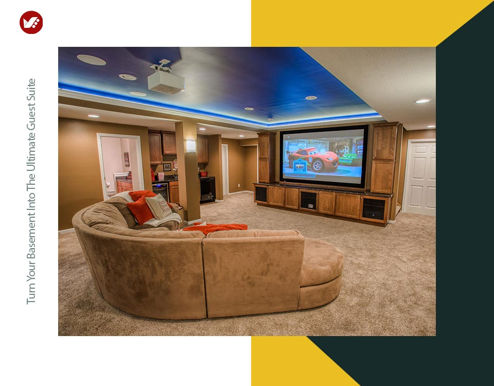 basement interior design 4 - تبدیل زیرزمین به فضایی بهتر و کاربردی تر