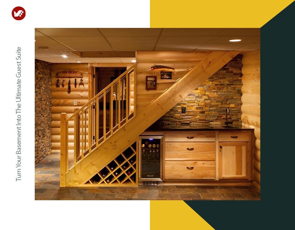 basement interior design 5 - تبدیل زیرزمین به فضایی بهتر و کاربردی تر