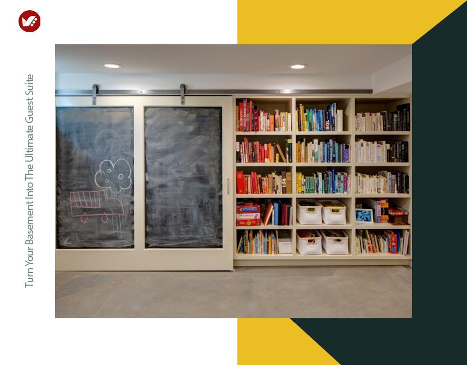 basement interior design 6 - تبدیل زیرزمین به فضایی بهتر و کاربردی تر