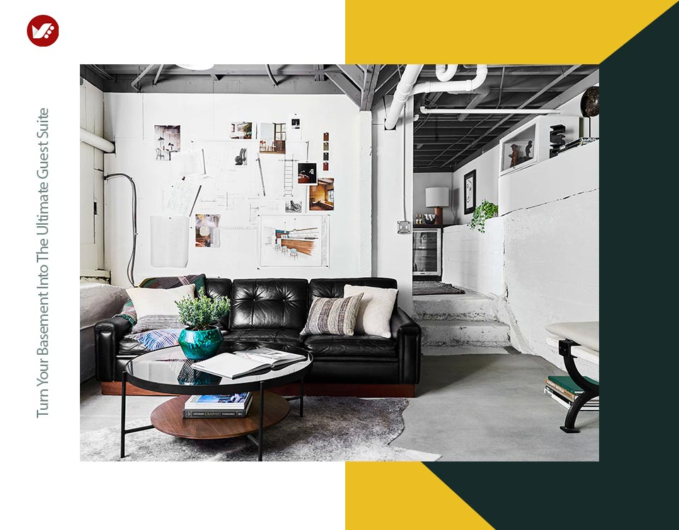 basement interior design 7 - تبدیل زیرزمین به فضایی بهتر و کاربردی تر