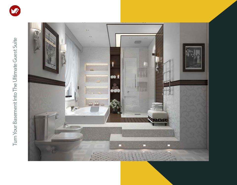 basement interior design 8 - تبدیل زیرزمین به فضایی بهتر و کاربردی تر