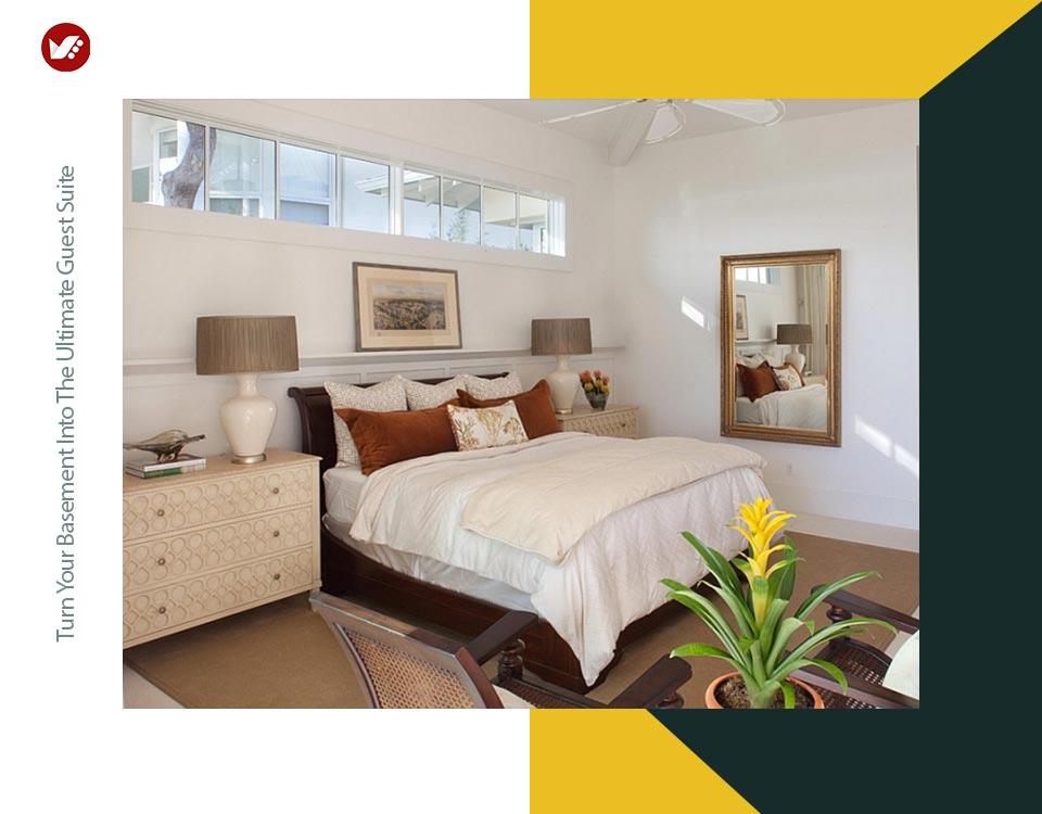 basement interior design 9 - تبدیل زیرزمین به فضایی بهتر و کاربردی تر