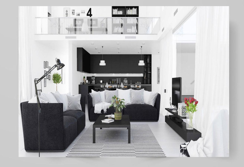 design 16 - مقایسه طراحی داخلی مدرن با معاصر