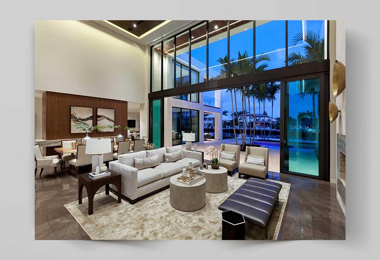 design 3 - مقایسه طراحی داخلی مدرن با معاصر