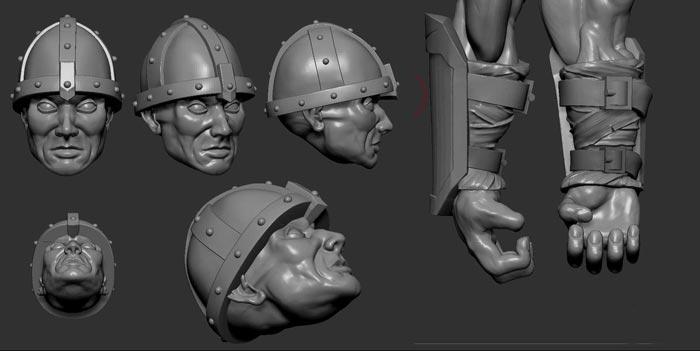 digital sculpture 12 - مجسمه سازی سه بعدی: چگونه با سبک خودتان کار کنید