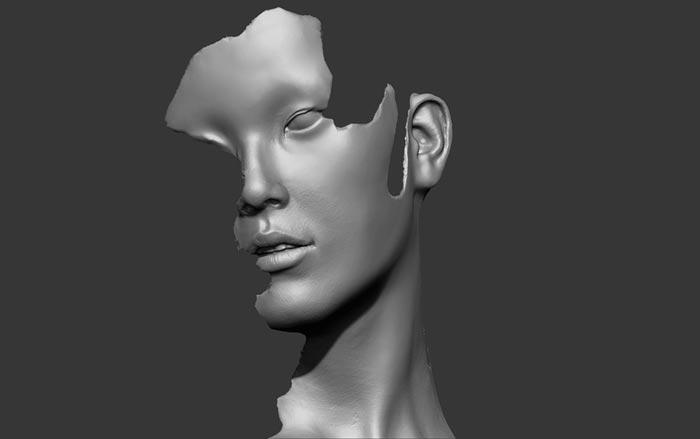 digital sculpture 2 - مجسمه سازی سه بعدی: چگونه با سبک خودتان کار کنید