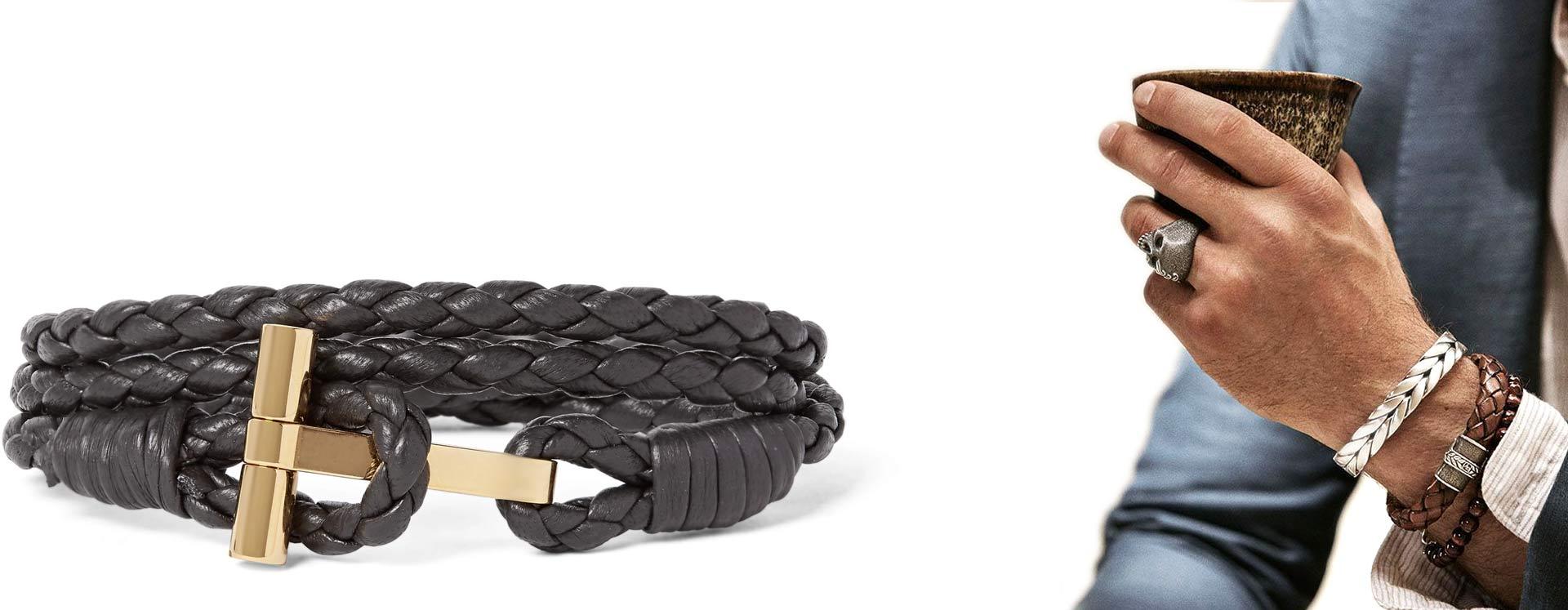 men's jewellery020jpg - برندهای لوکسی که موجب رونق جواهرات مردانه شده اند