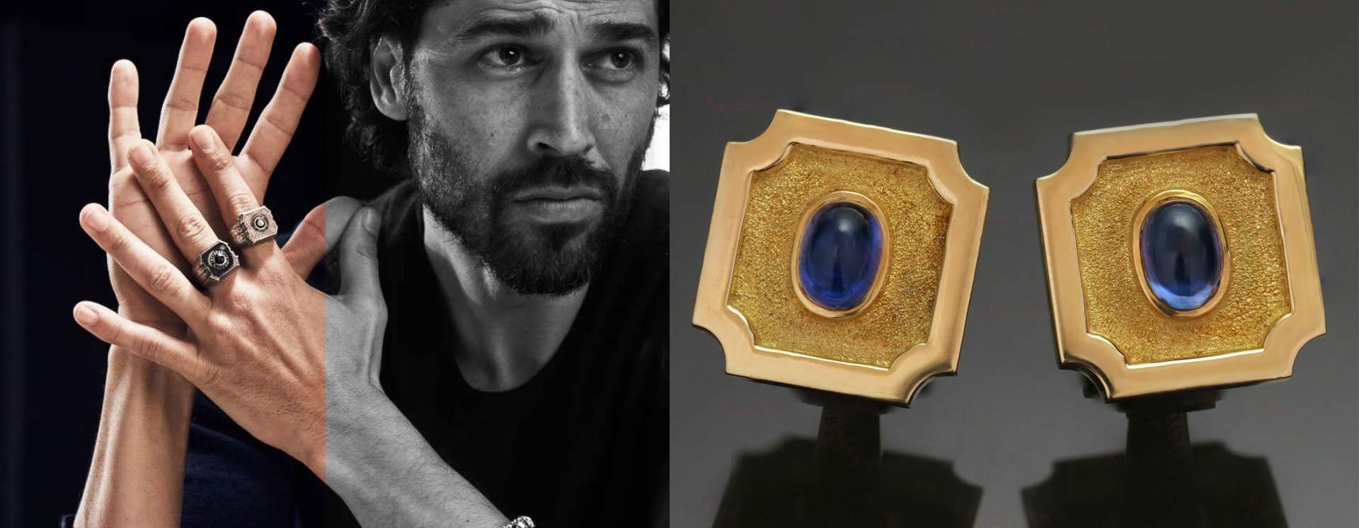 men's jewellery029 - برندهای لوکسی که موجب رونق جواهرات مردانه شده اند