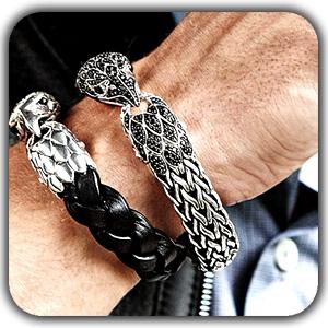 men's jewellery1 - عناصر ارگانیک در طراحی دکوراسیون
