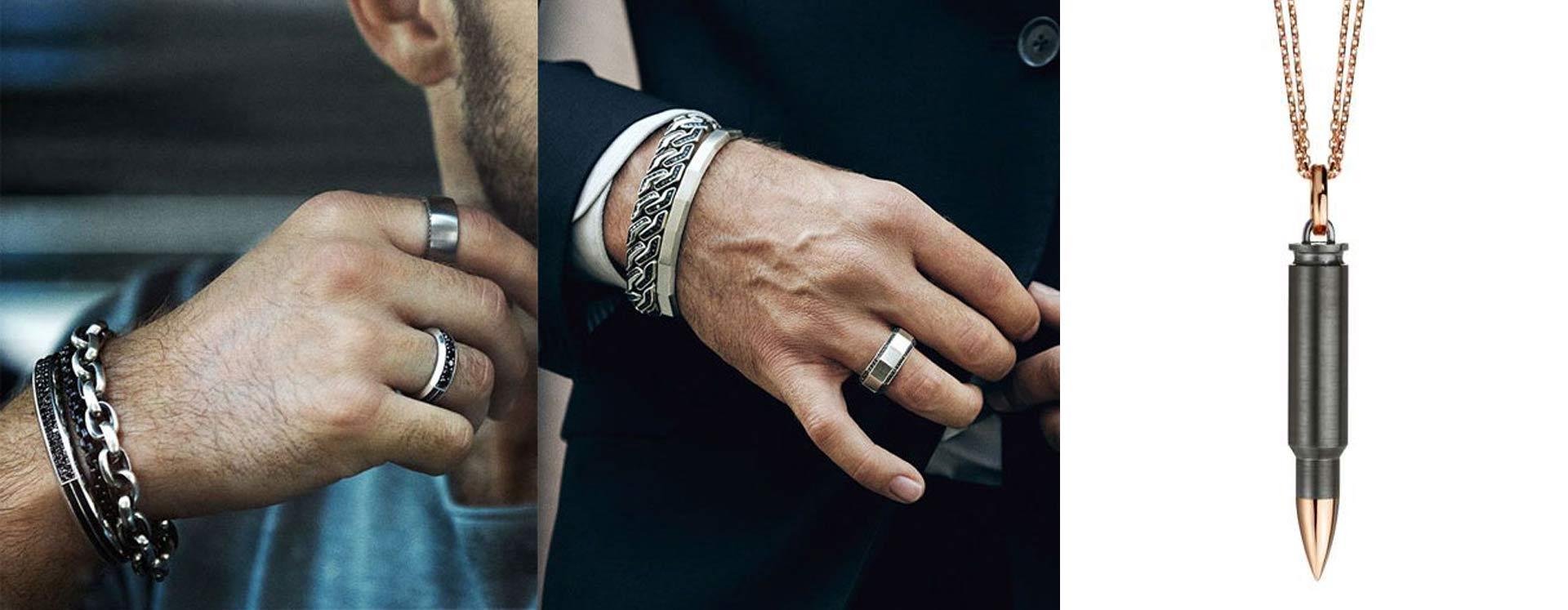 men's jewellery900 - برندهای لوکسی که موجب رونق جواهرات مردانه شده اند