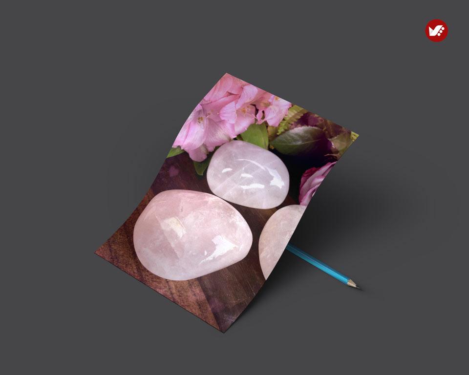 rose quartz - اثر کریستال ها در واستو