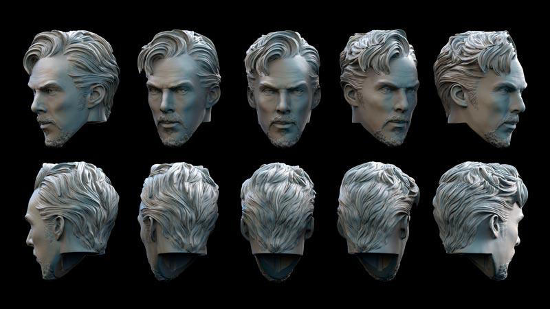 sculpture 3d 3 - مجسمه سازی سه بعدی: چگونه با سبک خودتان کار کنید
