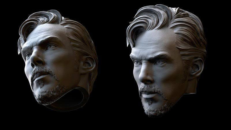 sculpture 3d model 2 - مجسمه سازی سه بعدی: چگونه با سبک خودتان کار کنید
