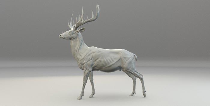 sculpture 3d model 20 - مجسمه سازی سه بعدی: چگونه با سبک خودتان کار کنید