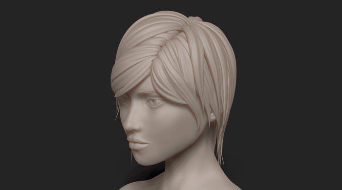 sculpture 3d model 6 - مجسمه سازی سه بعدی: چگونه با سبک خودتان کار کنید