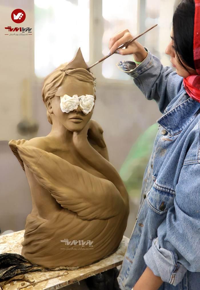 sculpture mojasamesazi mojasame 1 33 pouyaandish 2 - مجسمه سازی