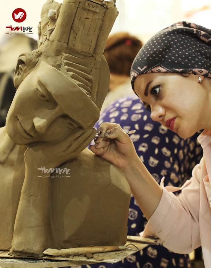 sculpture mojasamesazi mojasame 1 33 pouyaandish 3 - مجسمه سازی