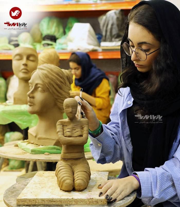 sculpture mojasamesazi mojasame 1 33 pouyaandish 4 - مجسمه سازی