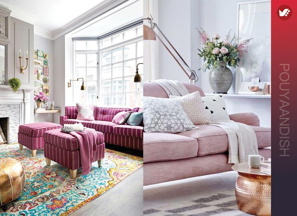 طراحی مبلمان منزل به سبک زنانه