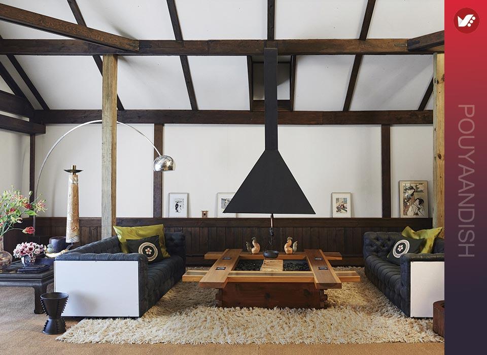 طراحی مبلمان منزل به سبک ژاپنی