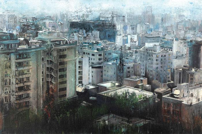 atbin ramin hafizi namayeshgah azar gallery 1 - گالری های هنری آذر ماه 98
