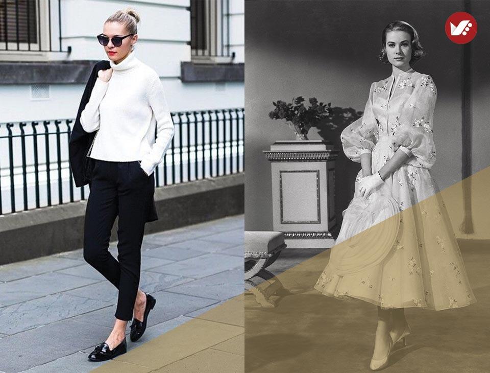 classic women style 1 - استایل کلاسیک زنانه
