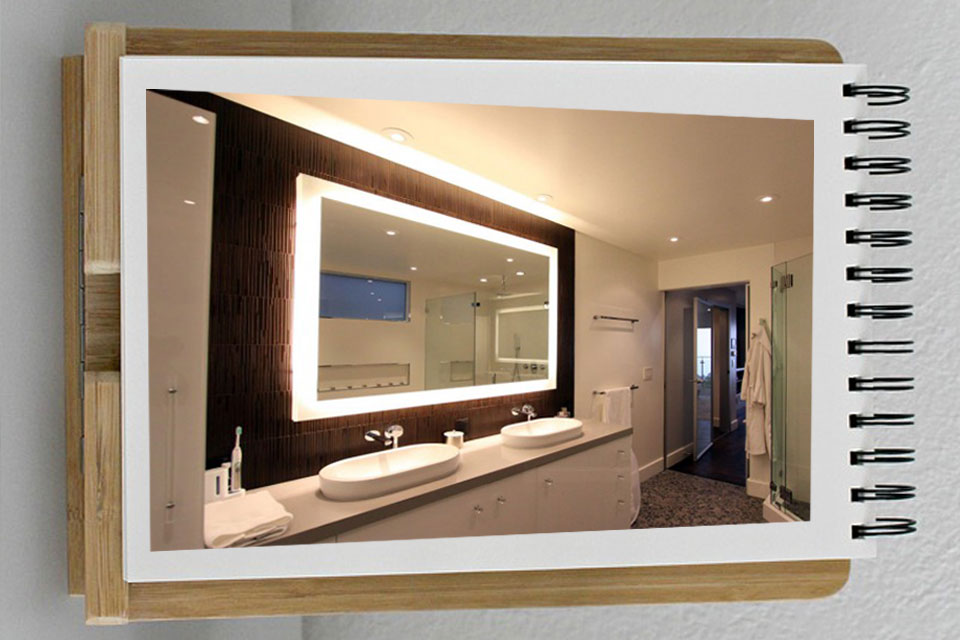 decorating mirrors 3 - آینه ها در دکوراسیون داخلی