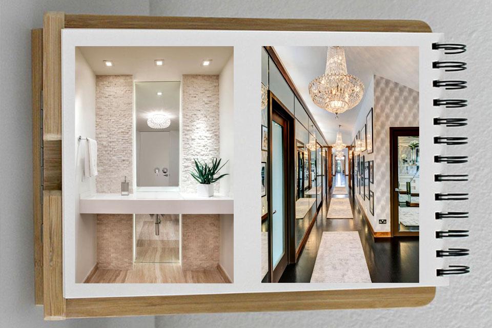 decorating mirrors 33 - آینه ها در دکوراسیون داخلی