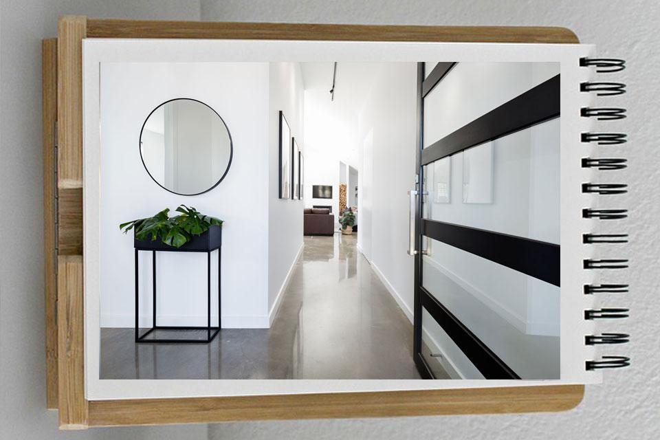 آینه در دکوراسیون داخلی9