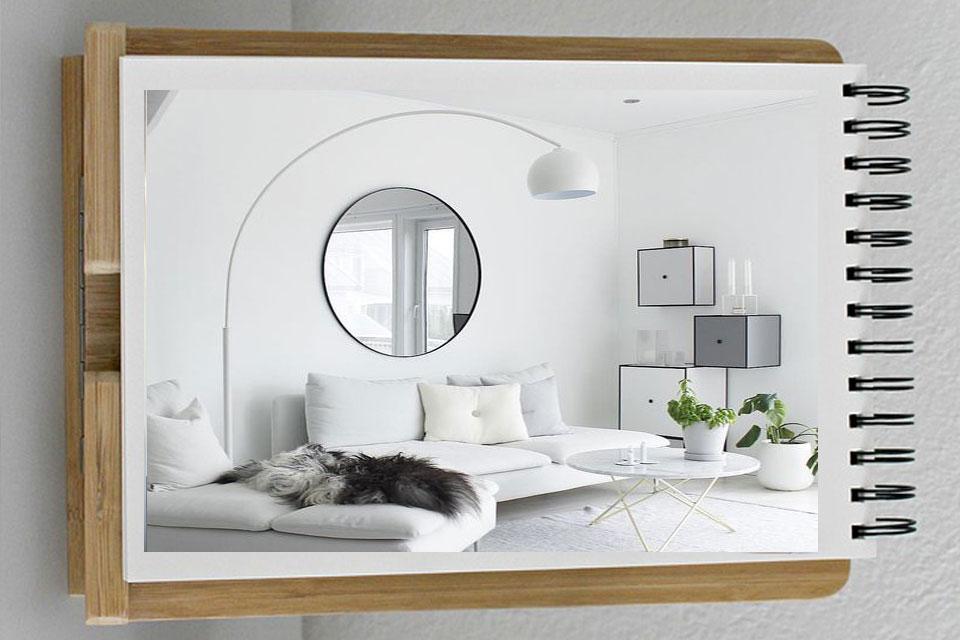 decorating mirrors ge9 - آینه ها در دکوراسیون داخلی