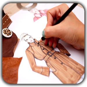 یک طراح مد چه می کند؟