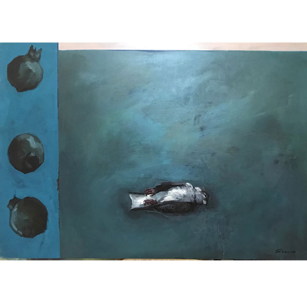 gallery news farid shams aban 98 - گالری های هنری آبان ماه 98