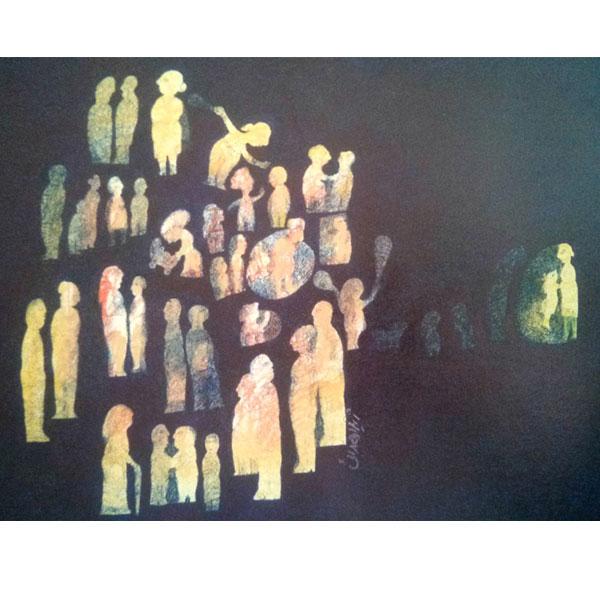 gallery news zhila hedayati aban 98 - گالری های هنری آبان ماه 98