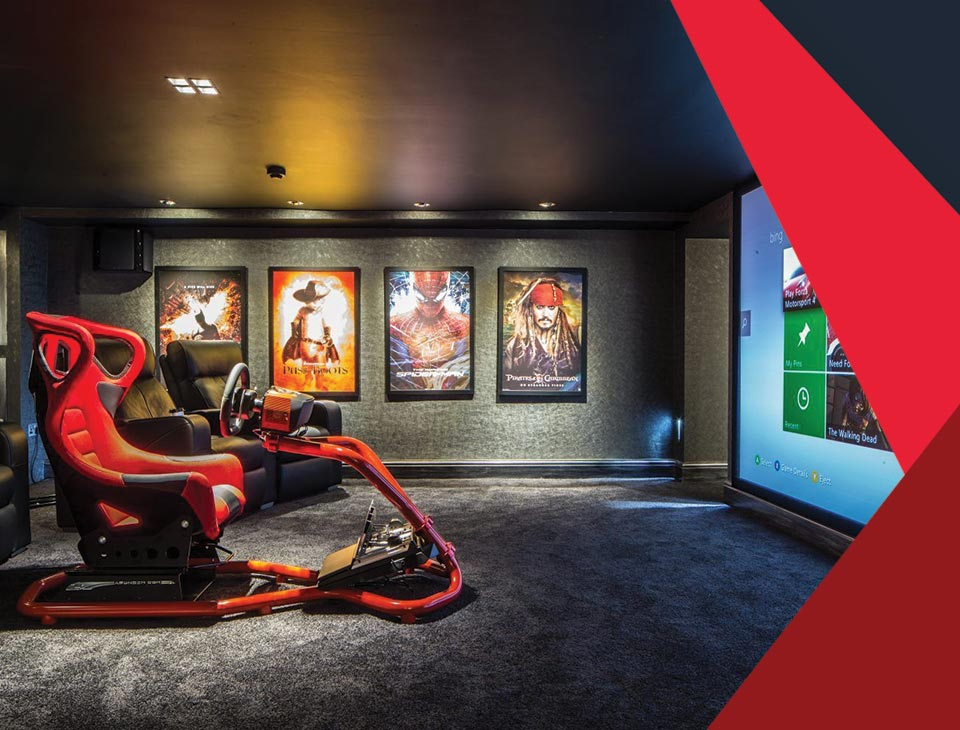 game room interior 10 - طراحی اتاق بازی در خانه برای تمامی سنین