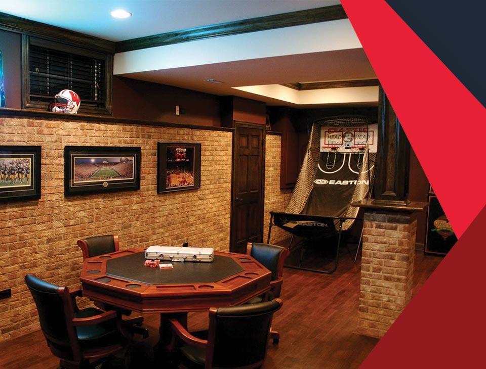 game room interior 3 - طراحی اتاق بازی در خانه برای تمامی سنین