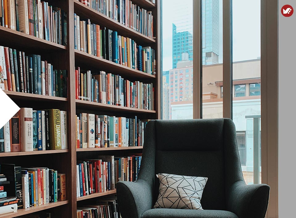 home libray design 13 - کتابخانه خانگی