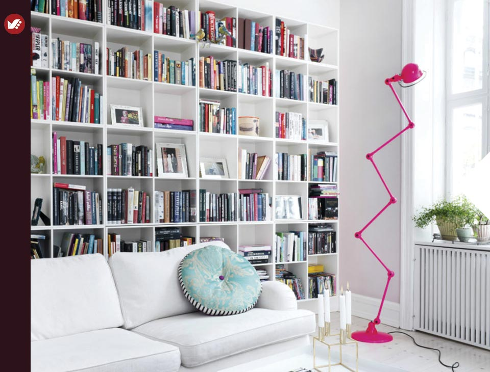 home libray design 19 - کتابخانه خانگی