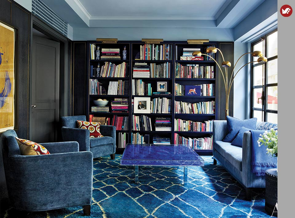 home libray design 3 - کتابخانه خانگی