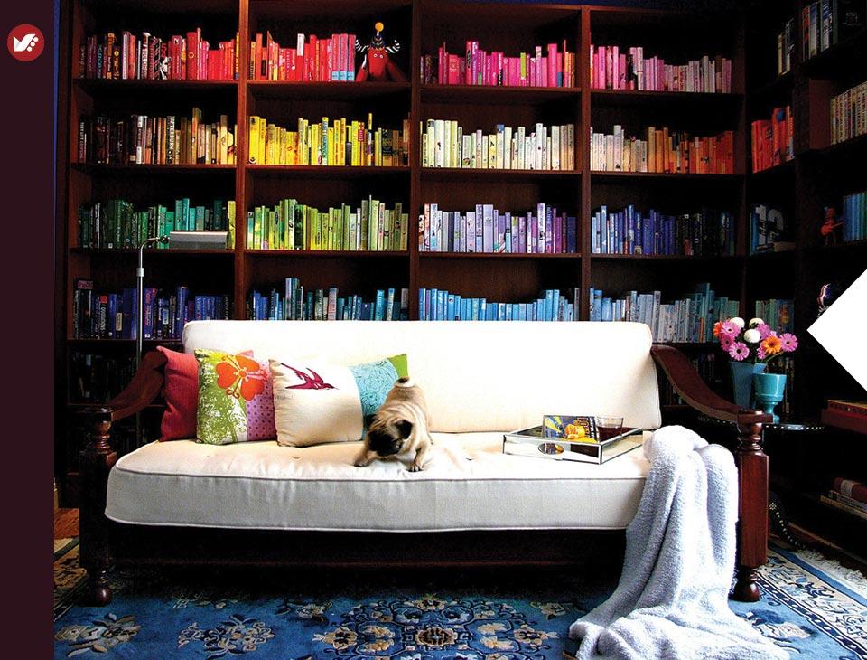 home libray design 4 - کتابخانه خانگی