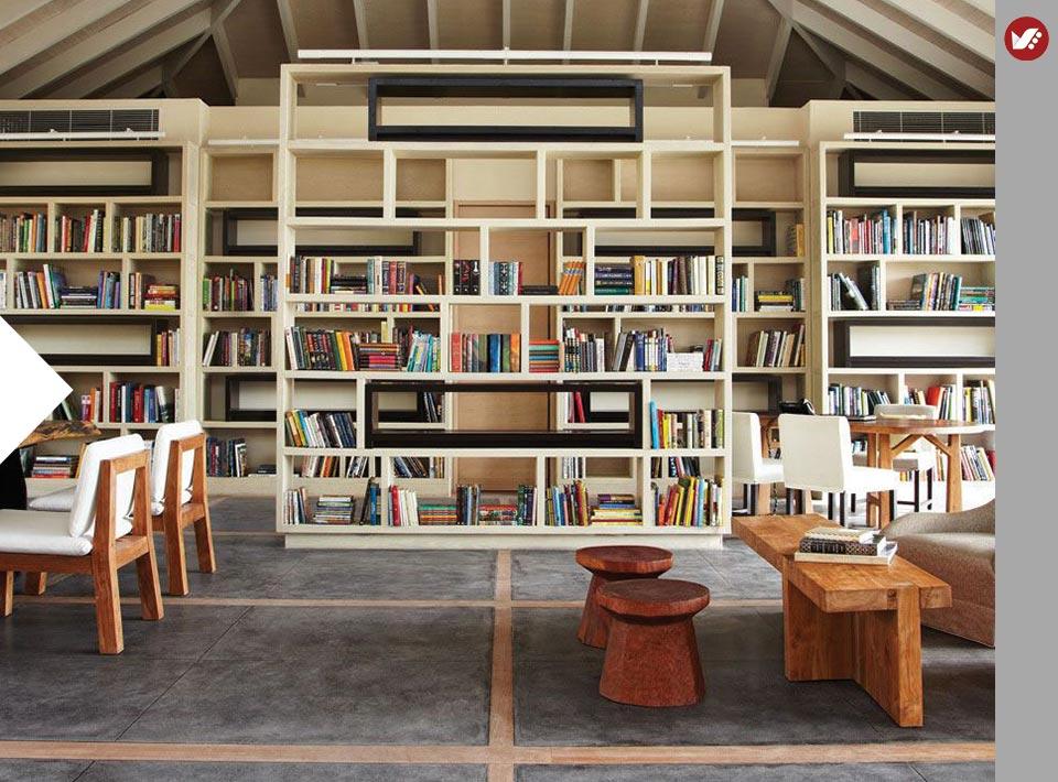 home libray design 5 - کتابخانه خانگی