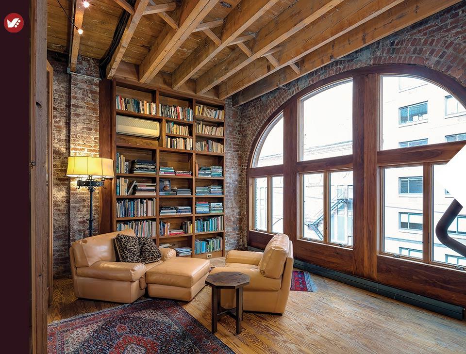 home libray design 6 - کتابخانه خانگی