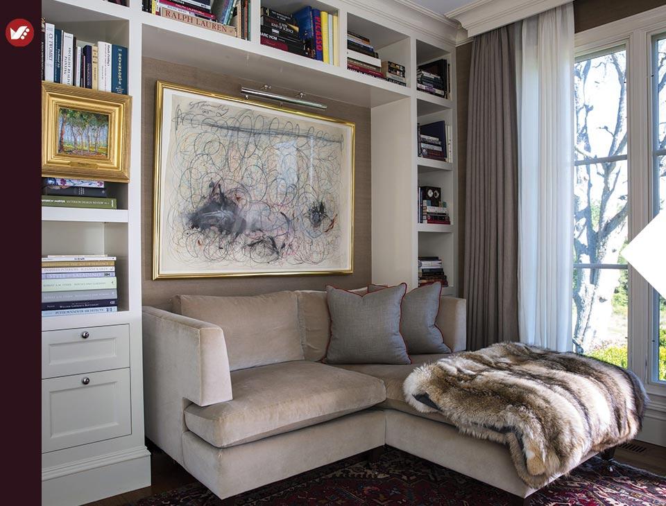 home libray design 8 - کتابخانه خانگی